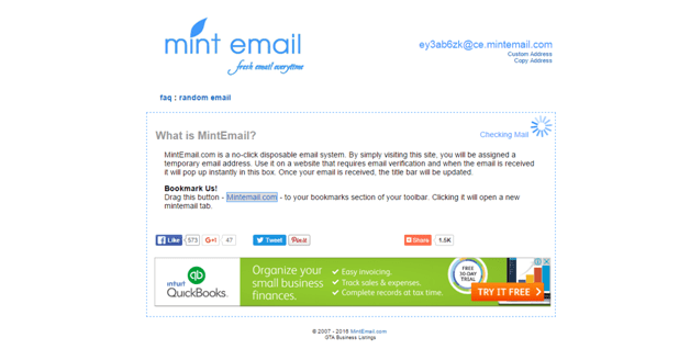 MintEmail