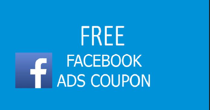 Cupones de anuncios de Facebook gratis