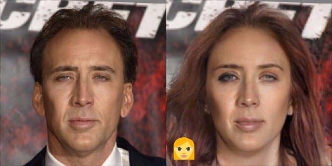 Faceapp cambio de género