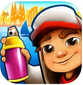 1. Subway Surfers (Android/ IPhone)