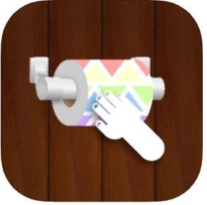 Toilet Paper Swipes - unroll the TP (IPhone)