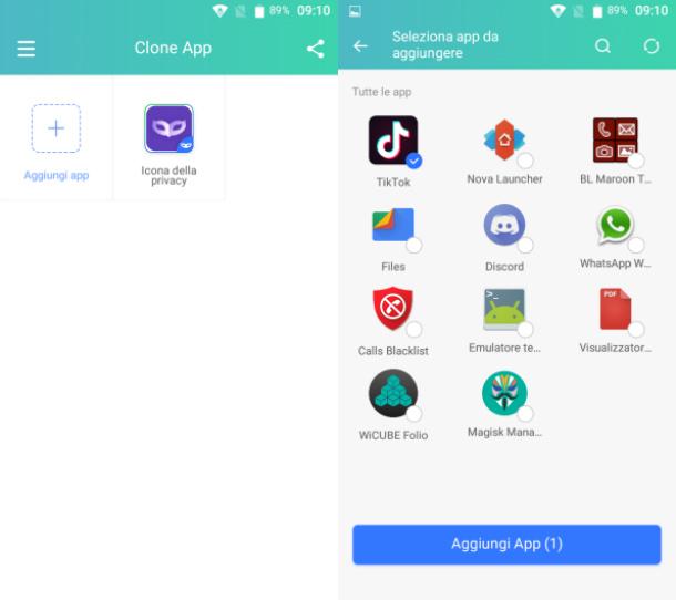 Aplicación TikTok Clone