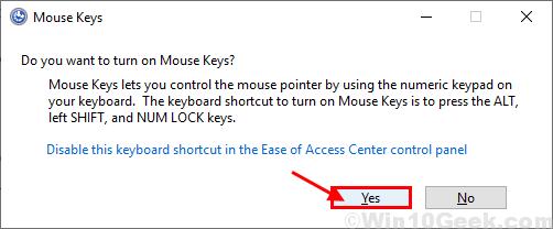 Teclas del mouse